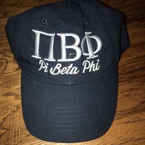 Accessories - Pi beta phi letters hat